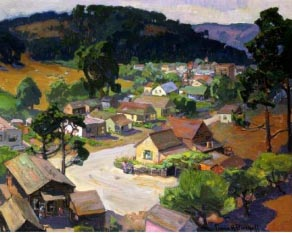 Franz Bischoff Cambria Peaceful Village