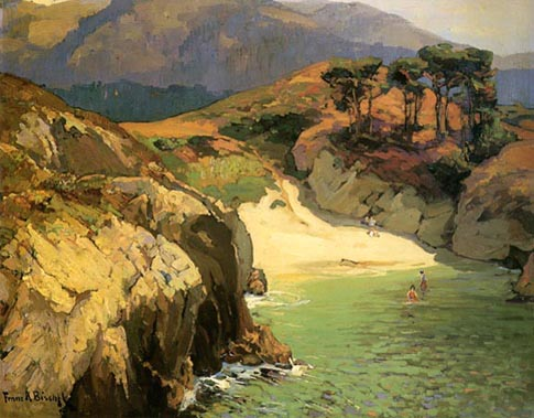 Franz Bischoff Emerald Cove (China Cove Point Lobos, CA