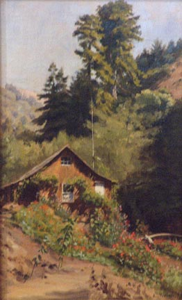 Ludmilla Welch View of Mountain Cottage Bolinas Museum