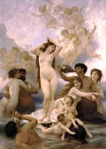 Adolphe Bouguereau The Birth of Venus