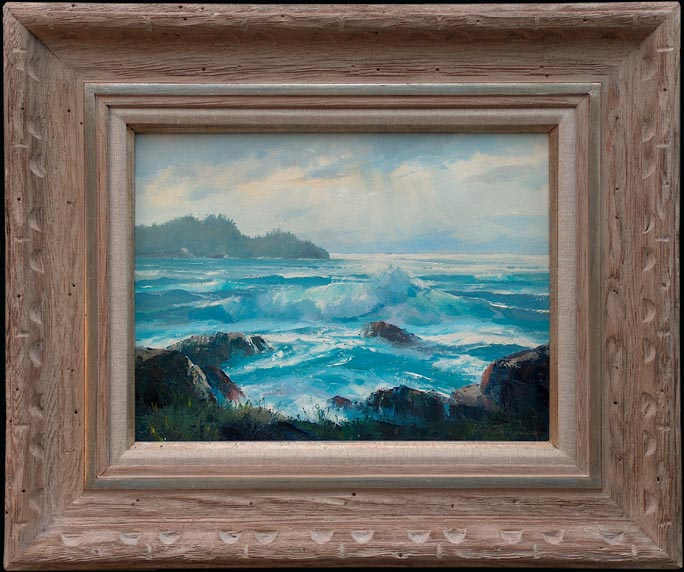 Bennett Bradbury Pacific Cove with frame