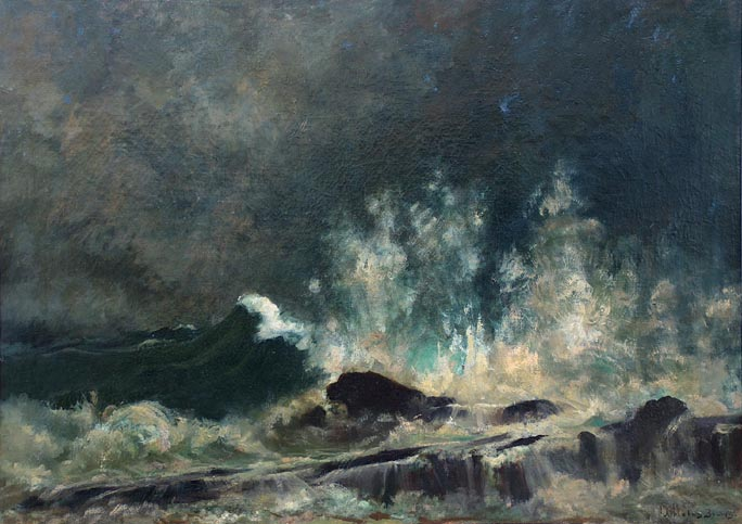 John Appleton Brown Crashing Waves