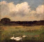 John Appleton Brown White Geese Thumbnail