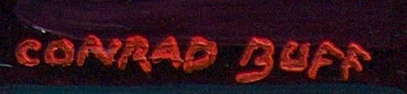 Conrad Buff From A Cave Signature