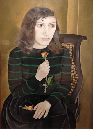 Lucian Freud Girl with Roses