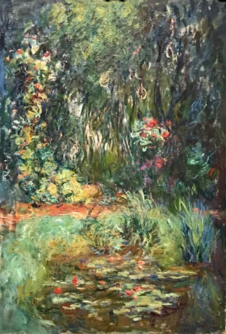 Claude Monet Corner of the Water - Lily Pond, 1918-19 Private Collection