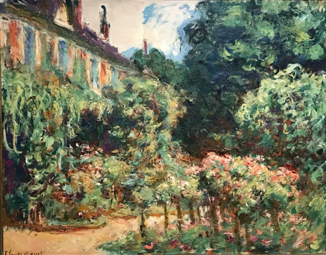 Claude Monet The Artist's House at Giverny, 1912-13 Private Collection