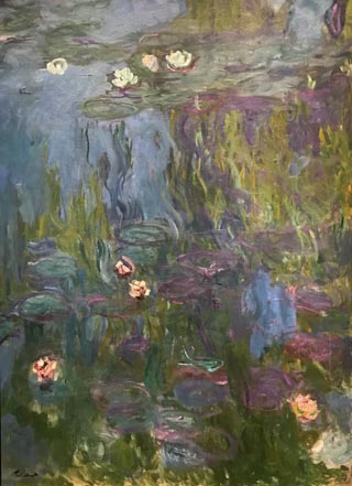 Claude Monet, Water Llilys, 1914-17 Collection of Diane B. Wisely, San Francisco