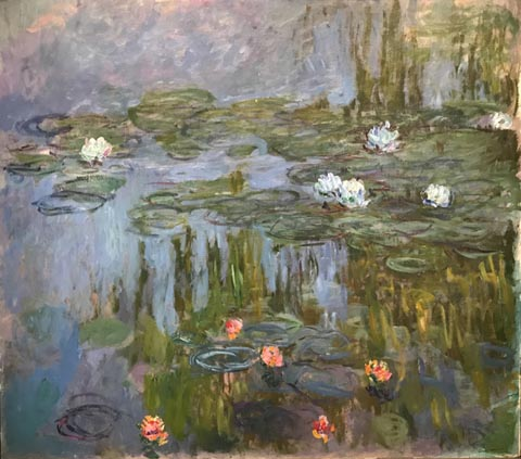 Water Lilys, 1914-15 Portland Art Museum, Oregon, Museum purchase, Helen Thurston Ayer Fund