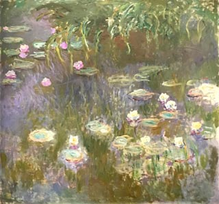 Claude Monet, Water Lilys, 1921-22?  Toledo Museum of Art, Ohio Libbey Endowment, Gift of Edward Drummond Libby