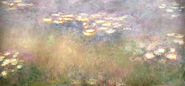 Claude Monet, Water Lilies, 1915-26 Saint Louis Art Museum, The Steinberg Charitable Fund, 1956
