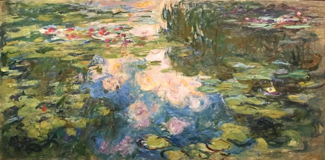 Claude Monet, Water-Lily Pond, 1917-19 Private Collection, courtesy Sotheby's