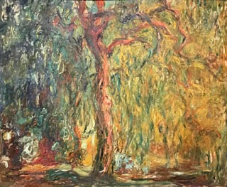 Claude Monet, Weeping Willow, 1918-19 Kimbell Art Museum, Fort Worth, TX Purchased, 1996