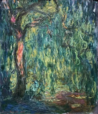 Claude Monet, Weeping Willow, 1918 Columbus Museum of Art, Ohio Gift of Howard and Babette Sirak, 1991