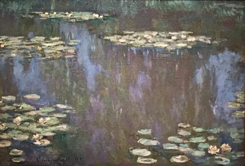 Claude Monet, Water Lilys, 1905 Private Collection, Dallas, in honor of Kay Fortson