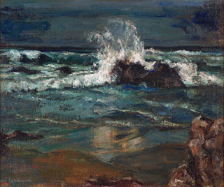 Isabelle Lockwood California Seascape Nocturn