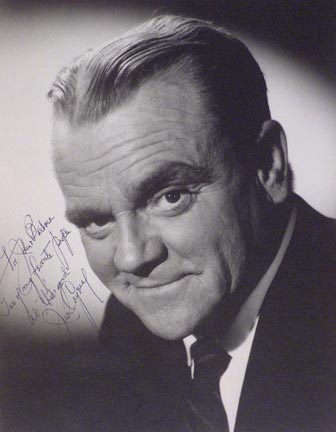 James Cagney Portrait dedicated to John and Barbara Hilton