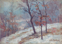Alice Chittenden Winter Scene