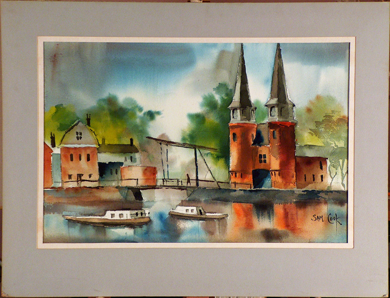 Sam Cook City Gate Delft with current mat