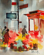 Sam Cook Corner Flower Stand Midszied Thumbnail