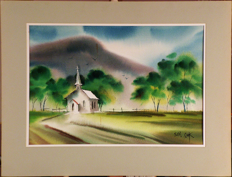 Sam Cook Country Church with current mat