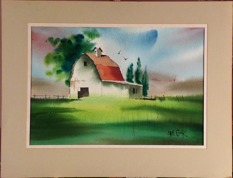 Sam Cook Oregon Farm with current mat