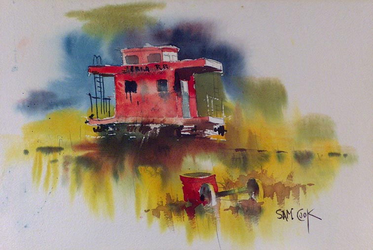 Sam Cook Red Caboose