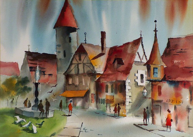 Sam Cook Village Street Germany