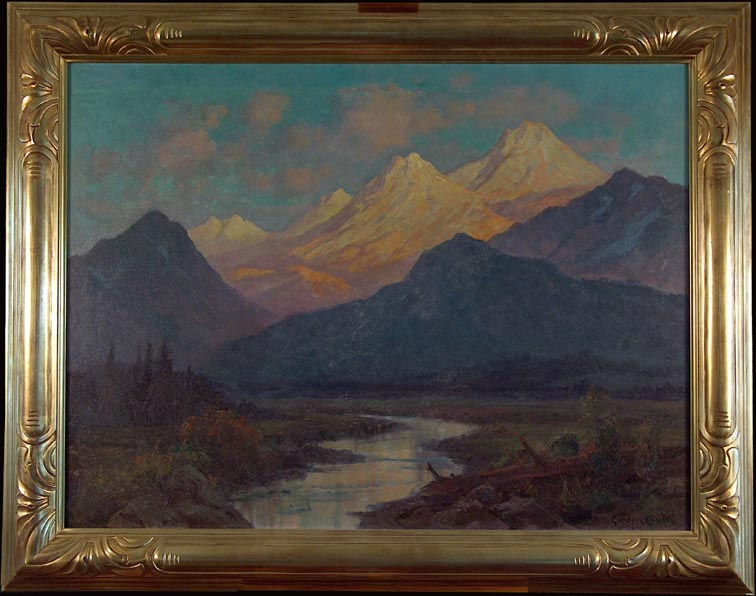Gordon Coutts Upper Tuolumne Sundown with Frame