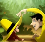Curious Geroge and the Man with the Yellow Hat