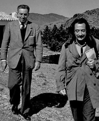 Salvador Dali and Walt Disney Seemingly Parallel Paths