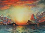 Richard Dey De Ribcowski Sunset Aflame Thumbnail