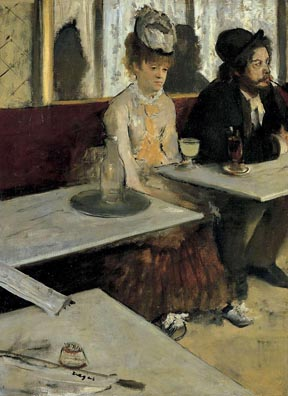 L'Absinthe by Edgar Degas