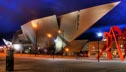 Denver Art Museum at Night
