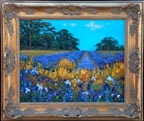 Dorothy Dzigursky Field of Flowers Fance Thumbnail