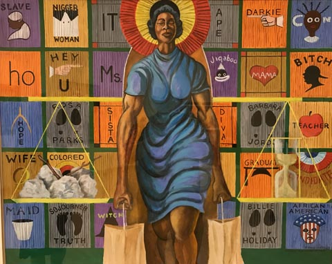 Study for a Woman of Color, 2000 Collection of Nancy Jones Justice and Family