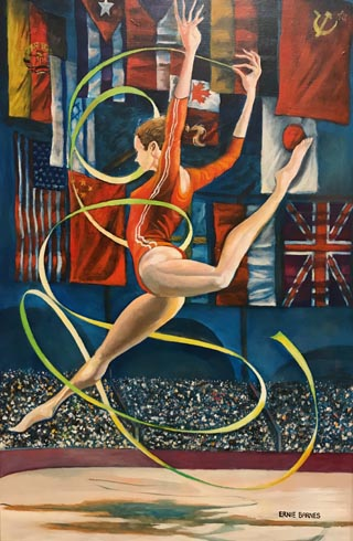 The Rhythmic Gymnast, 1984 Private Collection