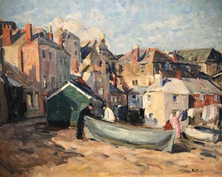 Down Along St. Ives, c1922 Monterey Museum of Art