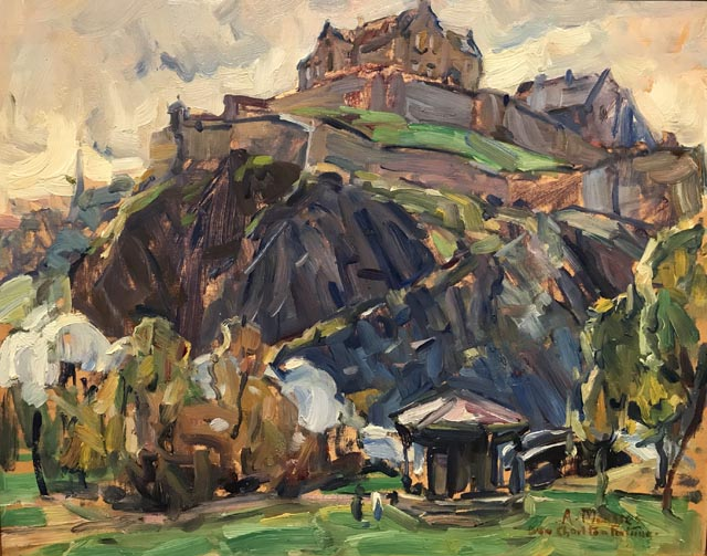 E Charlton Fortune Edinburgh Castle