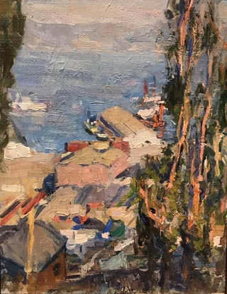 From Telegraph Hill, c1918 Collection of Simon K Chiu