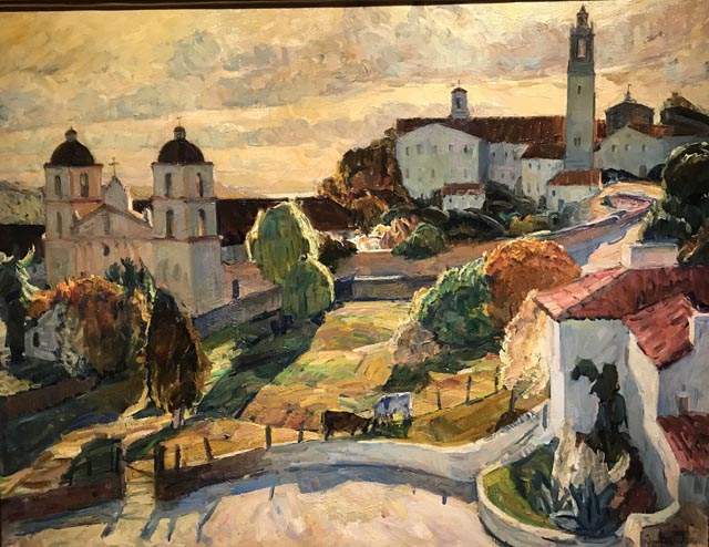 Santa Barbara, California, 1928 Monterey Museum of Art