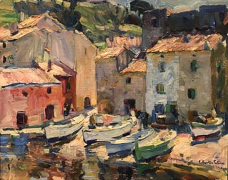 Ship Chandler, St. Tropez, c1924-27 Monterey Museum of Art