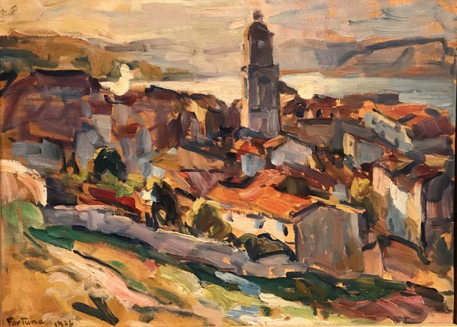 St. Tropez, 1926, Collection of Mr. and Mrs. Stanford Atwood