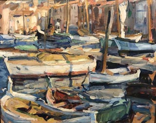 St. Tropez Harbor, c1927 Private Collection