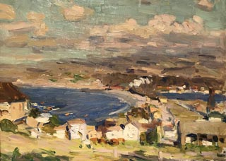 Study of Monterey Bay, c1917 The Irvine Museum