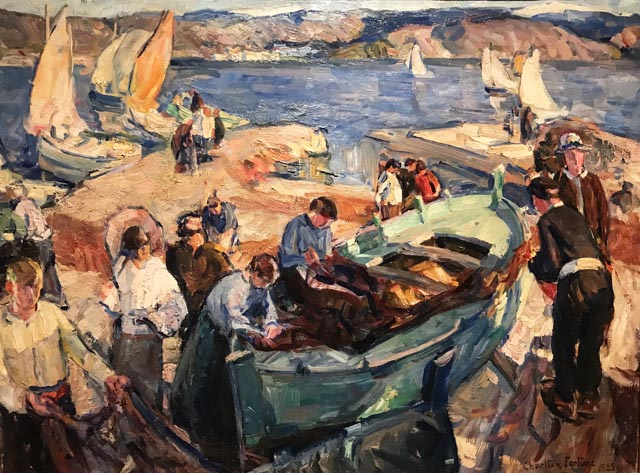 The Green Boat, St. Tropez, 1924 Monterey Museum of Art