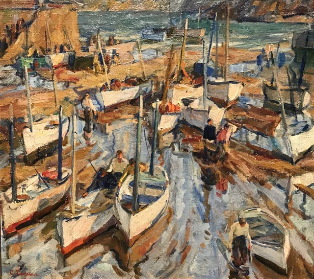 The Harbor Floor, c1923 Collection of Stephen P. Diamond, M.D.