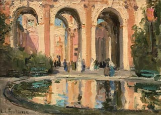 The Pool, c 1915 Macfarlane Collection