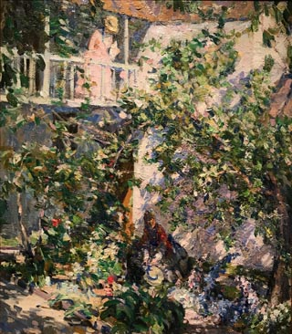 The Senora's Garden, c1916-17 Collection of John and Patty Dilks