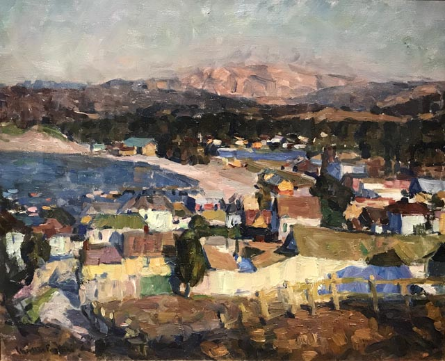 Untitled, View of Monterey, c1916 Private Collection